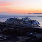 Sea Princess at P29. 6:37 a.m. 07 Sep 2011